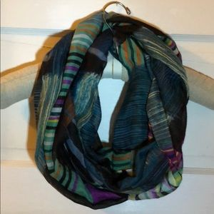 Accessories - Colorful Tribal Infinity Scarf